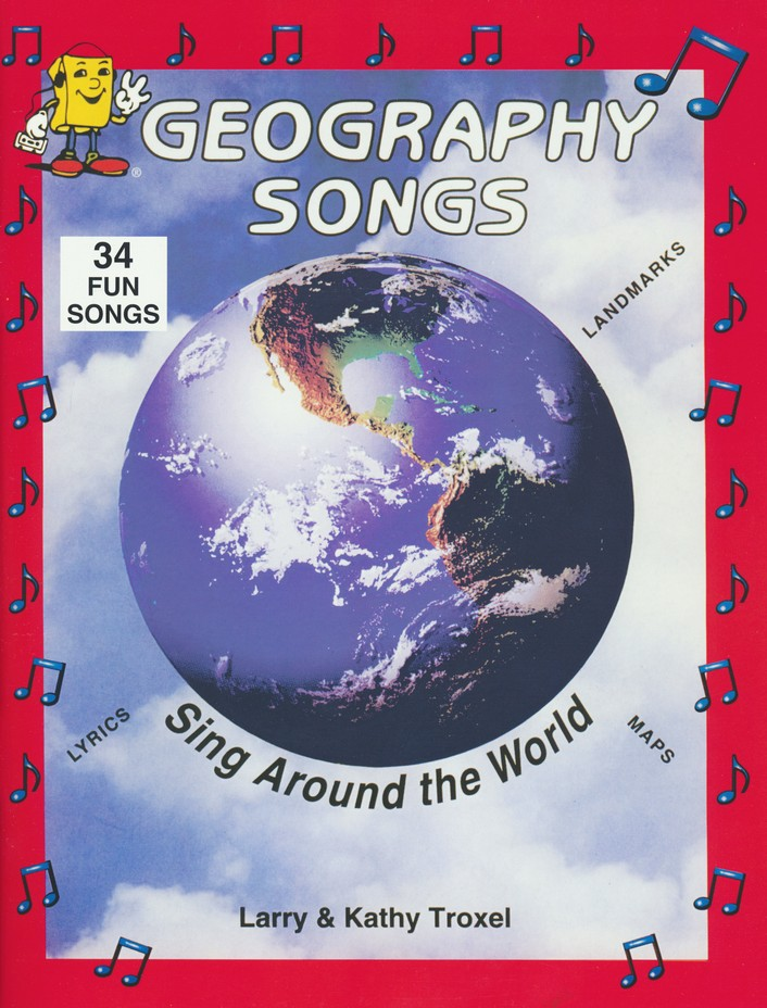 Audio Memory Geography Songs CD, Workbook, and Map