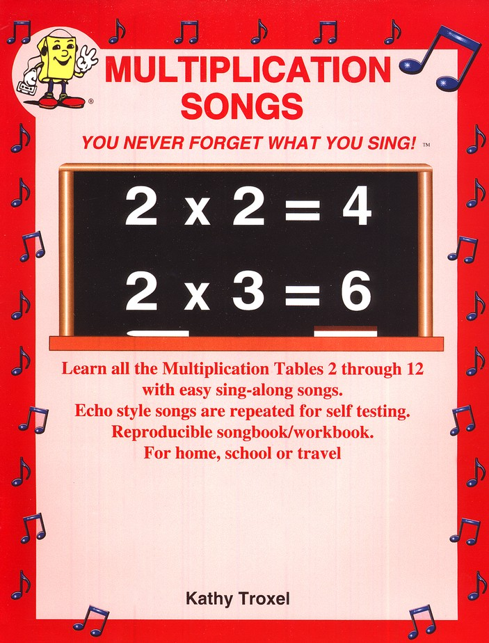 Audio Memory Multiplication Songs Workbook & CD Set