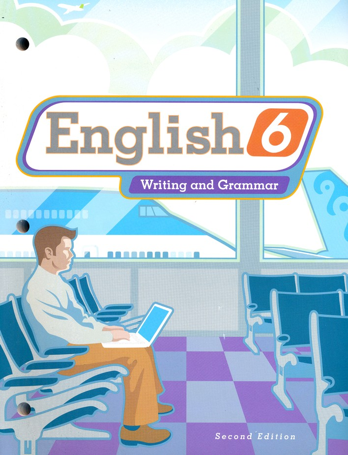 BJU English Grade 6 Student Text (Second Edition, Updated Copyright)
