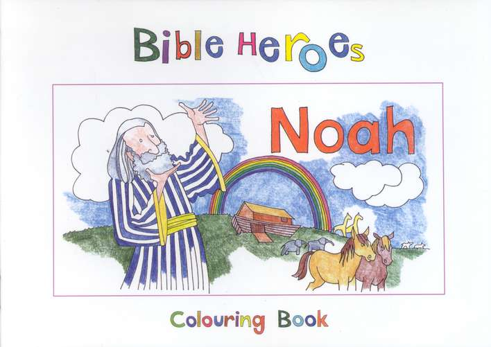 Noah Colouring Book