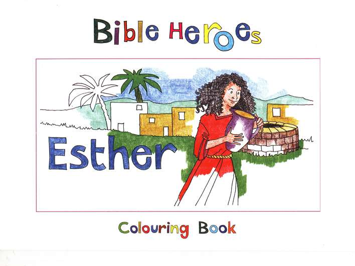 Esther Colouring Book