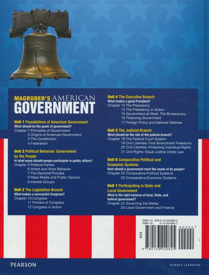 Magruder S American Government Homeschool Bundle 2013 Edition