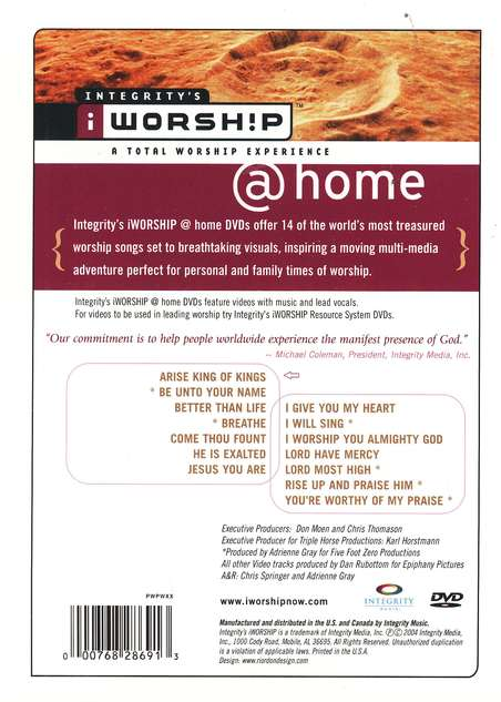 iWorship @ Home DVD, Volume 3