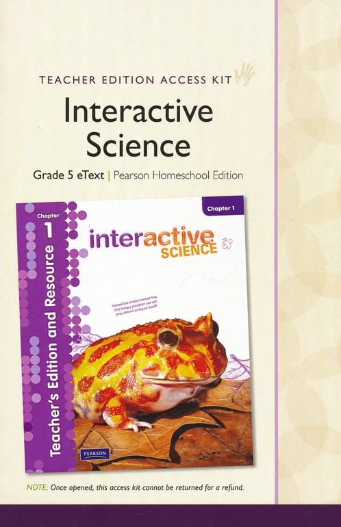 Interactive Science Grade 5 Homeschool Bundle