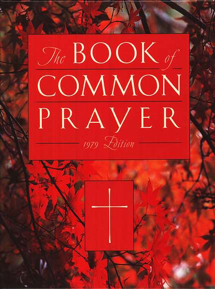 1979 Book of Common Prayer Personal Edition red Bonded Leather