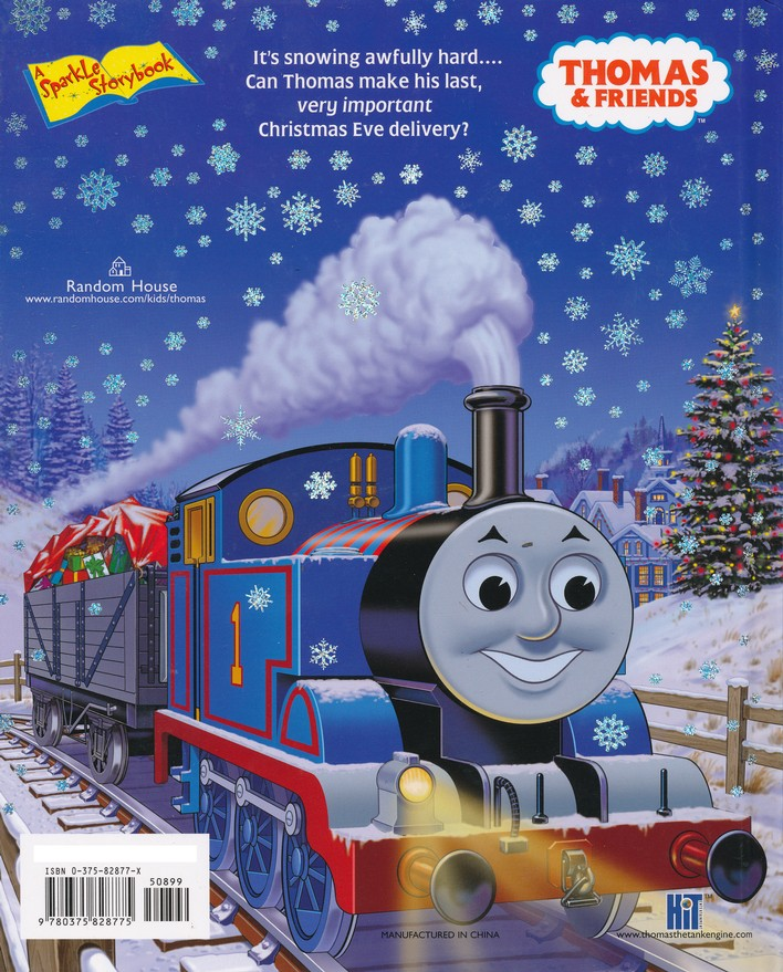 thomas christmas delivery rev w awdry illustrated by tommy stubbs 9780375828775 christianbookcom
