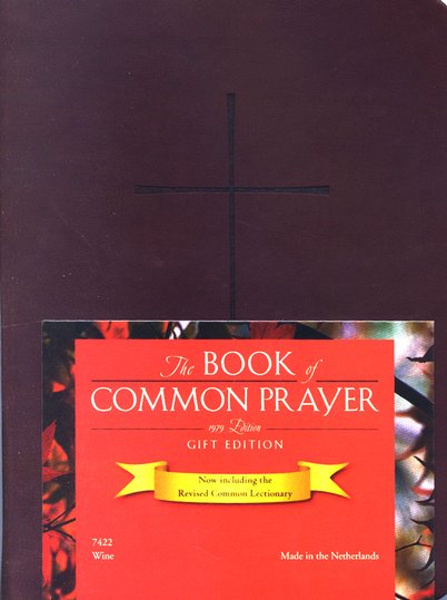 1979 Book of Common Prayer Personal Gift Edition wine Imitation Leather