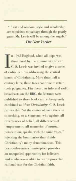 Mere Christianity Gift Edition