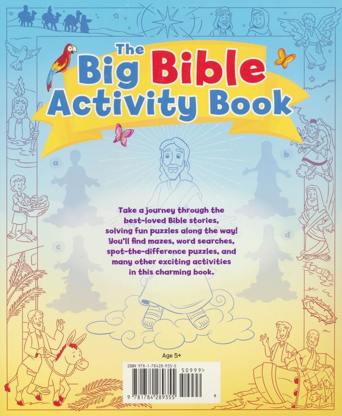 The Big Bible Activity Book