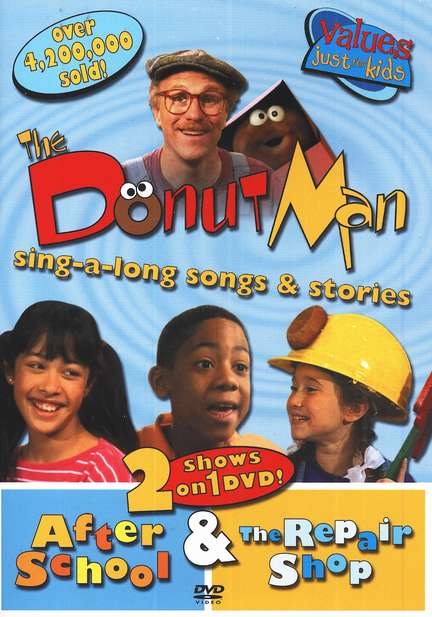 The Donut Man: After School & The Repair Shop, DVD