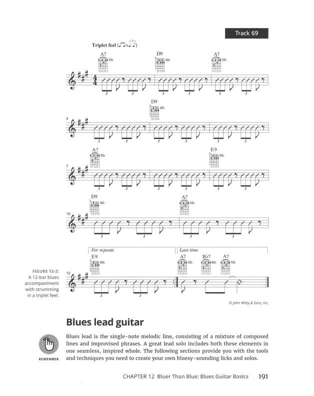 Guitar For Dummies Mark Phillips Jon Chappell 9781119293354