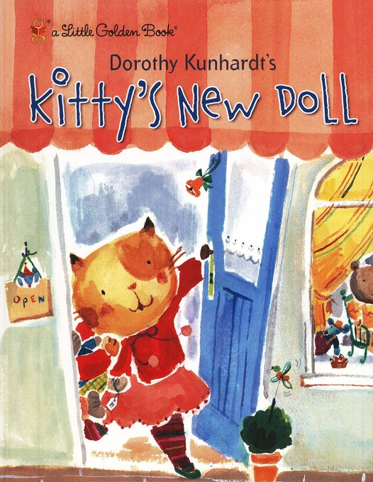 Kitty's New Doll: A Little Golden Book