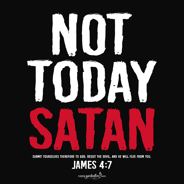 *SALE* Not Today Satan Crop Top Black