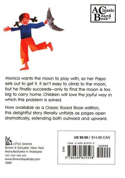 Papa, Please Get the Moon for Me Board Book
