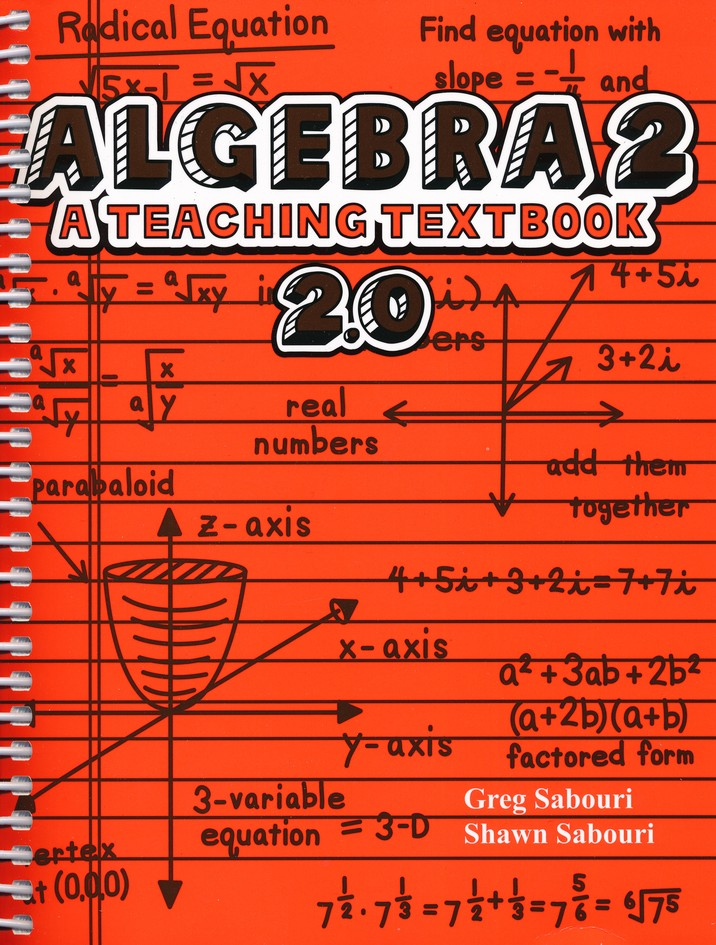 Teaching Textbooks Algebra 2 Textbook and Answer Key, Version 2.0