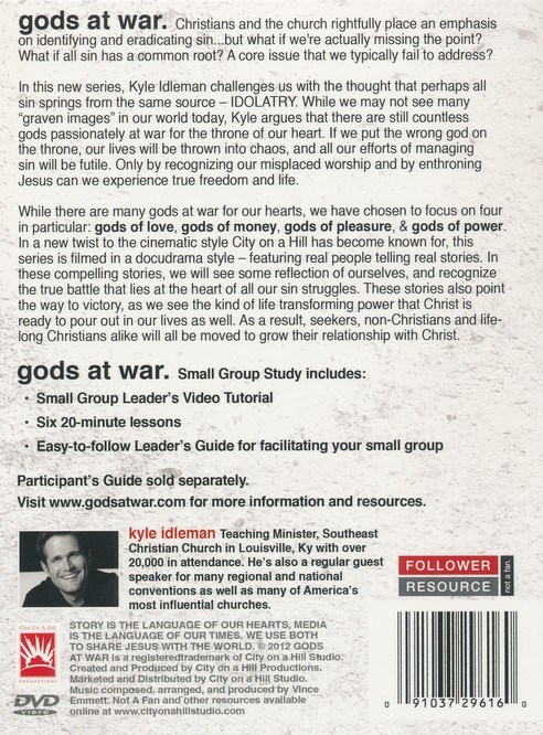 Gods At War Small Group Kit  DVD and Leader's Guide