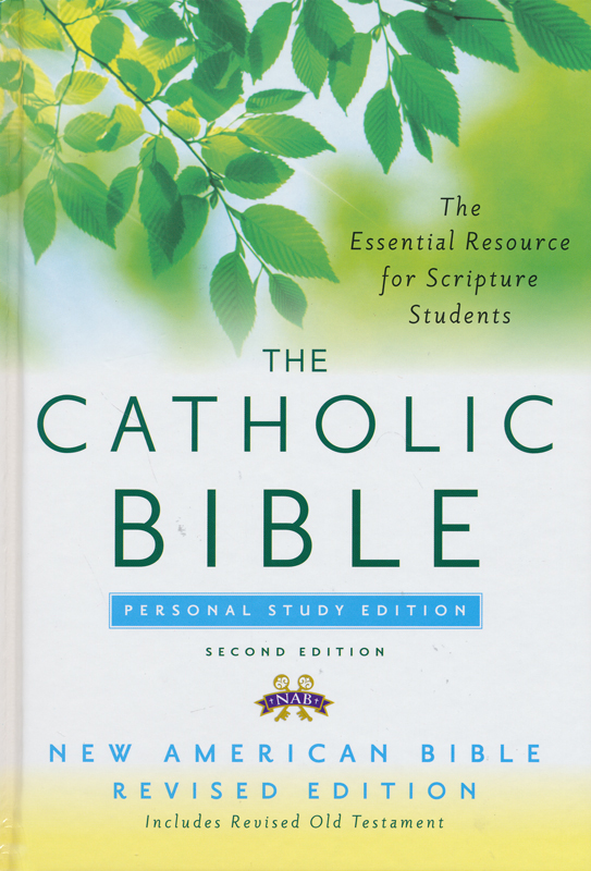 Catholic Bible, Personal Study Edition, NABRE