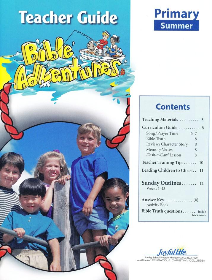 Bible Adventures Primary Teacher Guide (Grades 1-2
