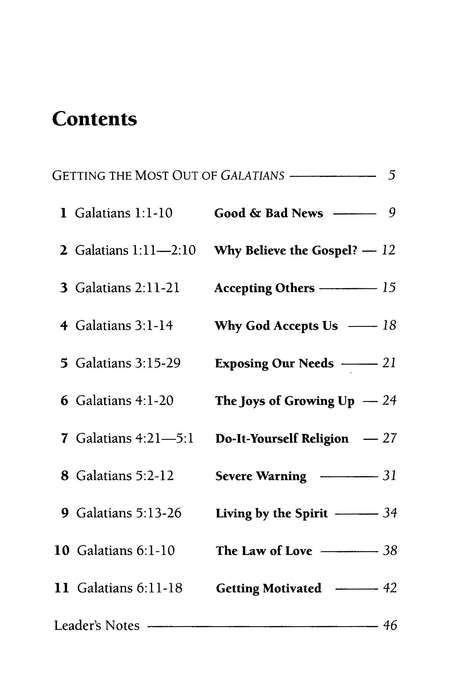 Galatians: Why God Accepts Us-Revised  LifeGuide Scripture Studies