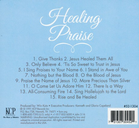 Healing Praise CD: From the Copeland Ministries
