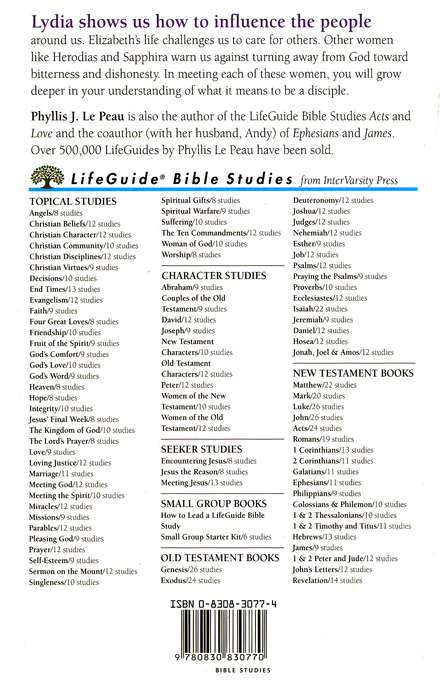 Women of the New Testament, LifeGuide Character Bible Study