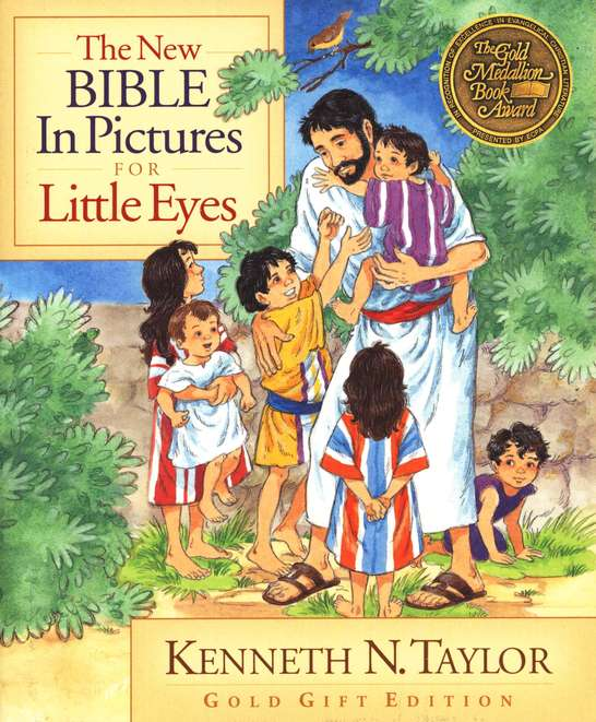 New Bible in Pictures for Little Eyes Gold Gift Edition