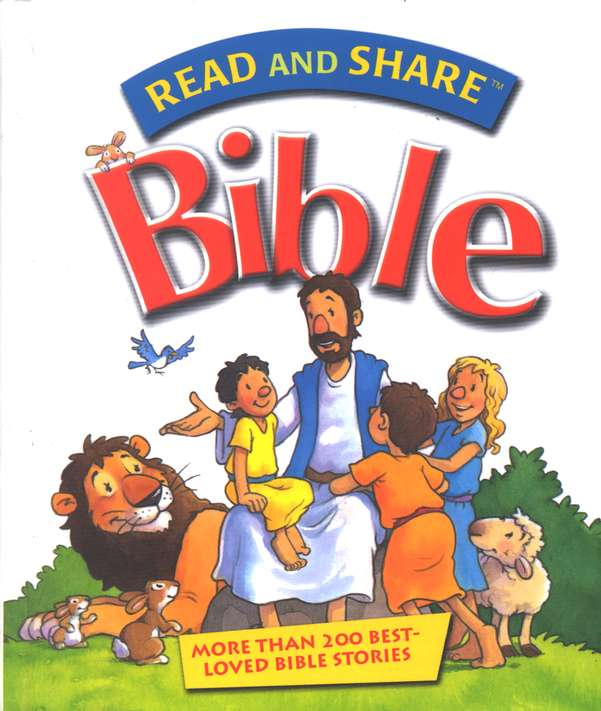 Read and Share Bible: Over 200 Best-Loved Bible Stories