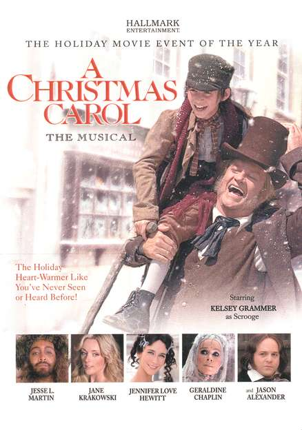A Christmas Carol: The Musical, DVD