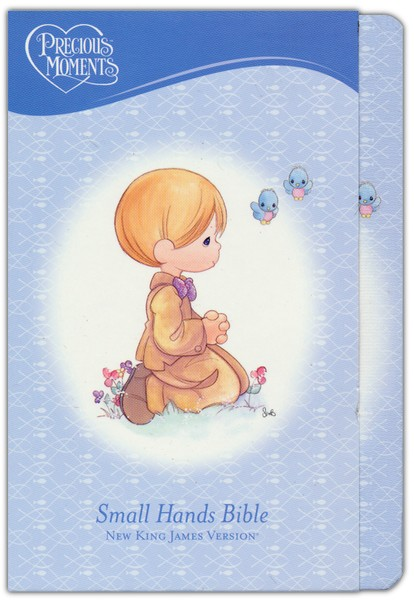 NKJV Precious Moments Holy Bible - Blue