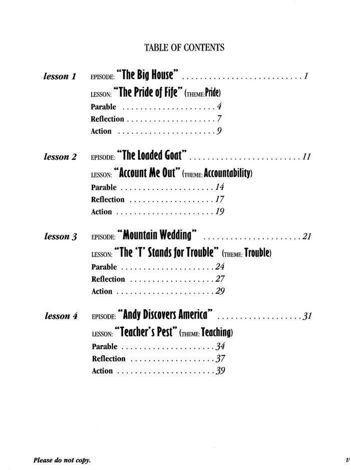 The Mayberry Bible Study, Study Guide Volume 2