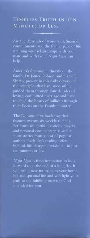 Night Light: A Devotional for Couples - hardcover edition