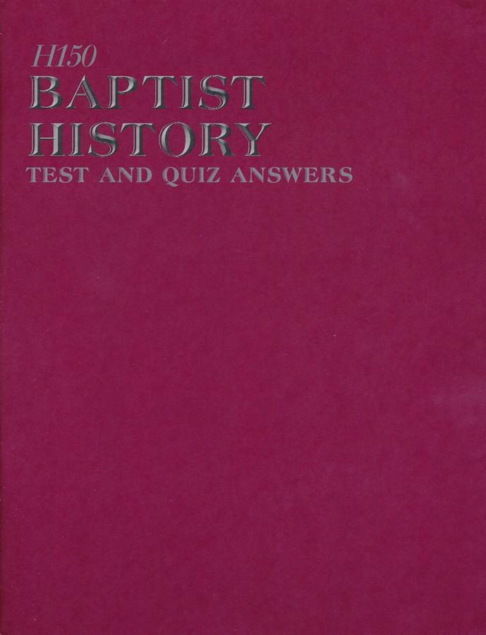 Landmark's Freedom Baptist History H150, Baptist History, Grade 10