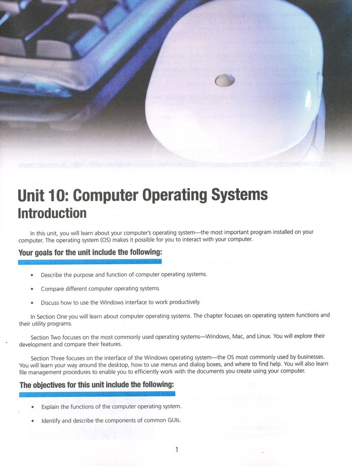Business Computer Information Systems Lifepac 10