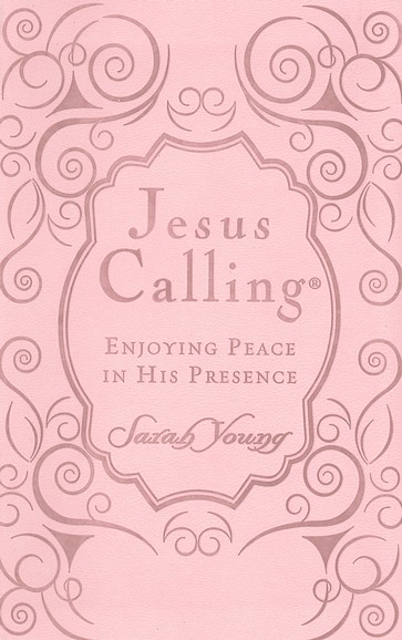 Jesus Calling, Women's Ed. Imitation Leather - Pink