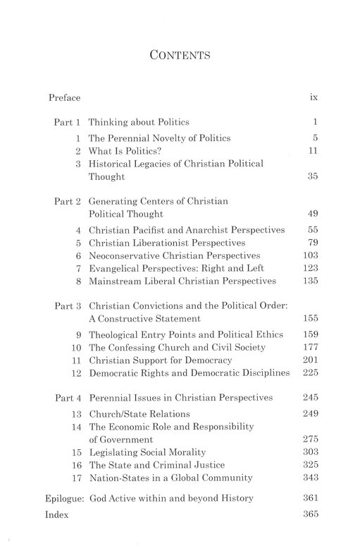 Christian Perspectives on Politics: Revised & Expanded
