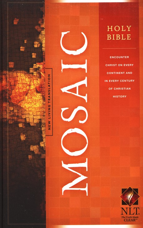 NLT Holy Bible, Mosaic Edition--hardcover