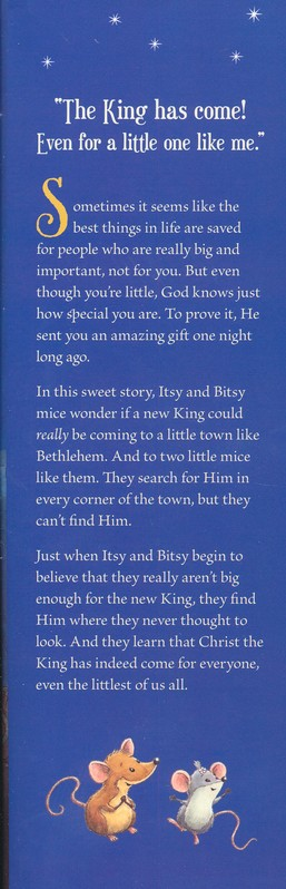 Itsy Bitsy Christmas: You're Never Too Little for His Love!