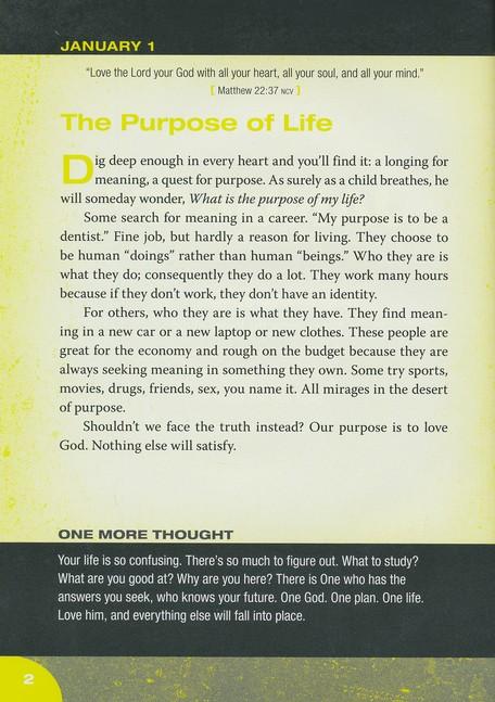One God One Plan One Life A 365 Devotional