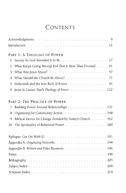Transforming Power: Biblical Strategies for Making a Difference in Your Community