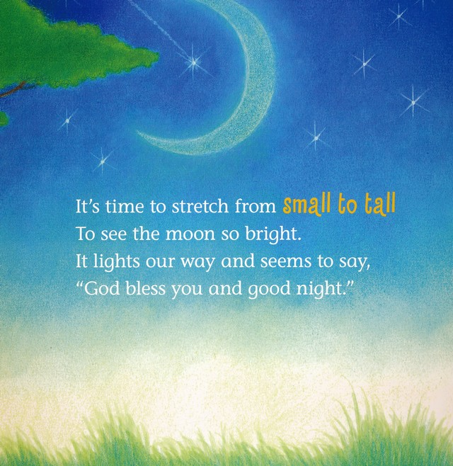 God Bless You Good Night Boardbook Hannah C Hall 9781400322947