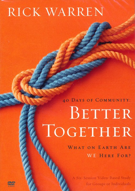 Better Together: What on Earth Are We Here For? DVD