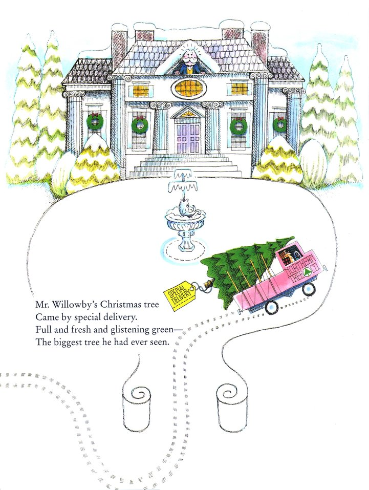 Mr. Willowby\'s Christmas Tree: Robert Barry: 9780385327213 ...