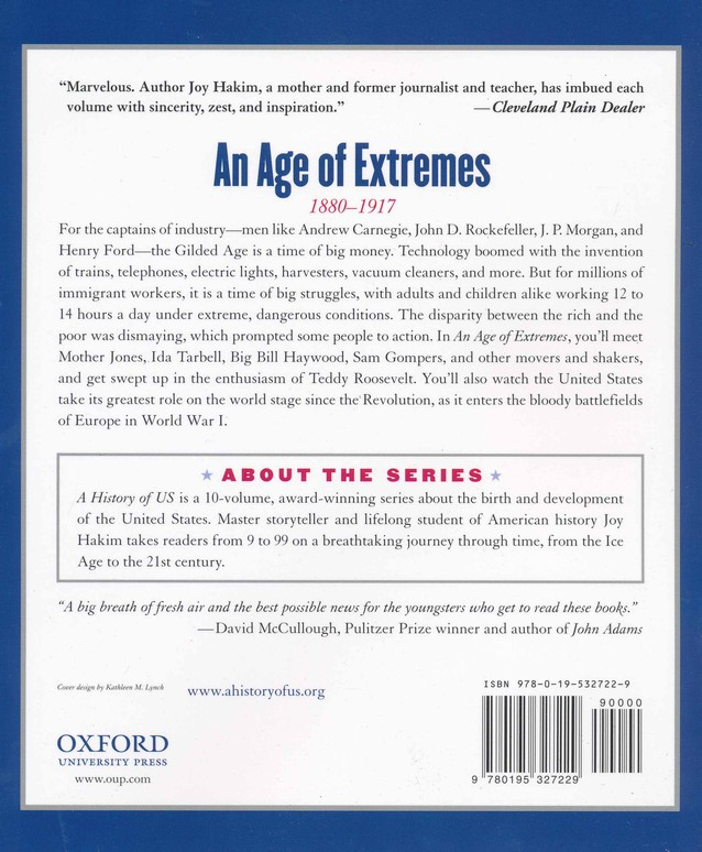 An Age of Extremes: 1880-1917 A History of US Book 8