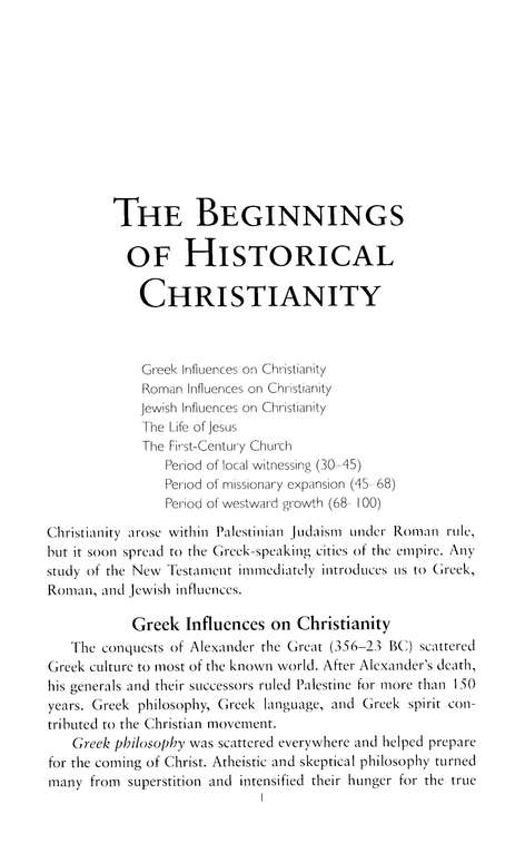 A Summary of Christian History: Third Edition