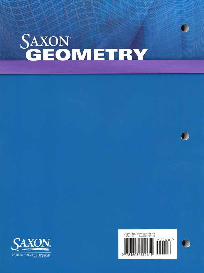 Saxon geometry homeschool kit 9781600329760 christianbook fandeluxe Choice Image