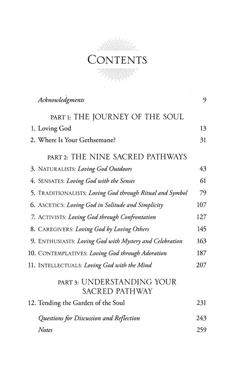 Sacred Pathways: Discover Your Soul's Path to God