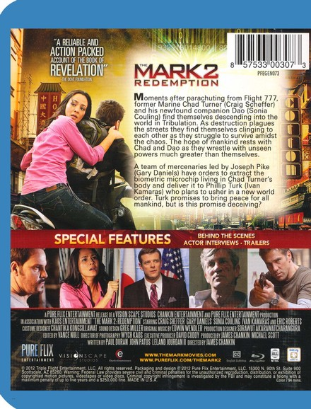 The Mark 2: Redemption, Blu-ray