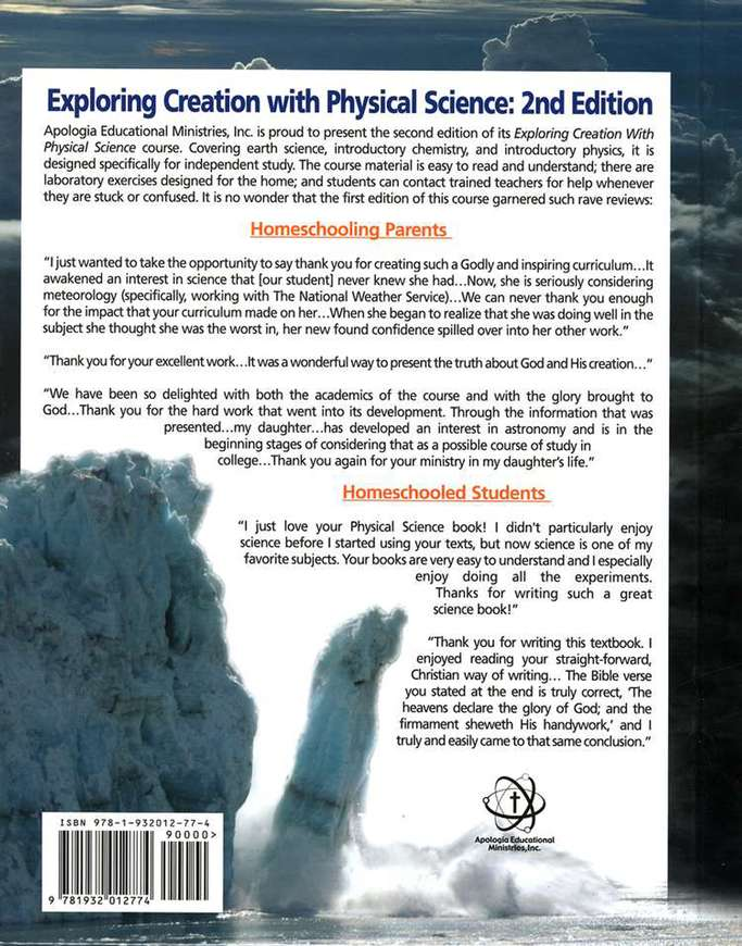 Apologia exploring creation with physical science basic set 2nd apologia exploring creation with physical science basic set 2nd edition dr jay l wile christianbook fandeluxe Choice Image