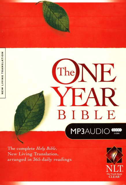 NLT One-Year Bible on MP3