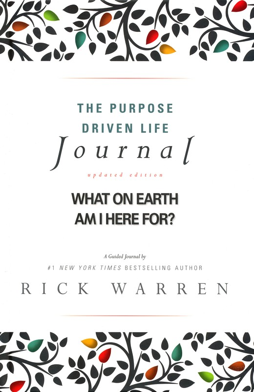 Purpose Driven Life Journal